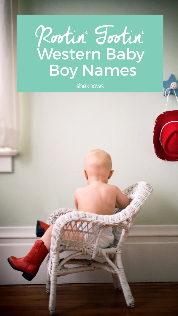 40 Western Baby Boy Names for Your Cowboy-to-Be – SheKnows