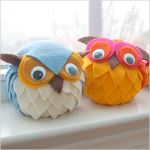 Styrofoam owl craft | Sheknows.com