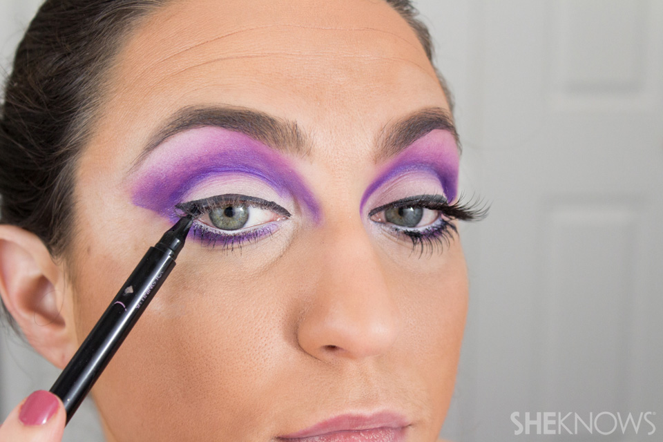 Barbie Halloween Makeup: Step 16
