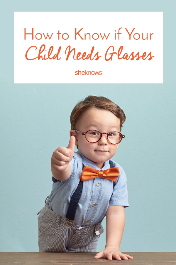 c7ea7859cf Does Your Kid Need Glasses  – SheKnows