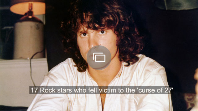 17 Rock stars who fell victim to the 'curse of 27'