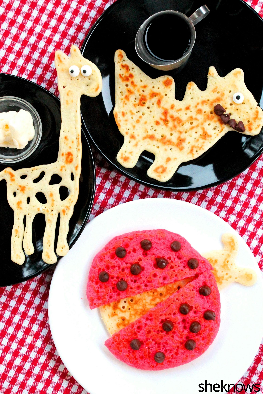 Animal-shaped-pancakes