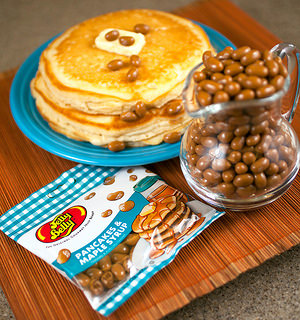 jelly belly pancakes and maple syrup