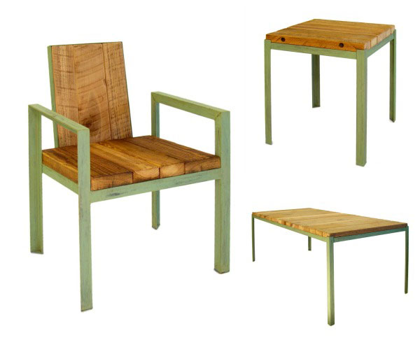Uncommon Goods reclaimed wood set