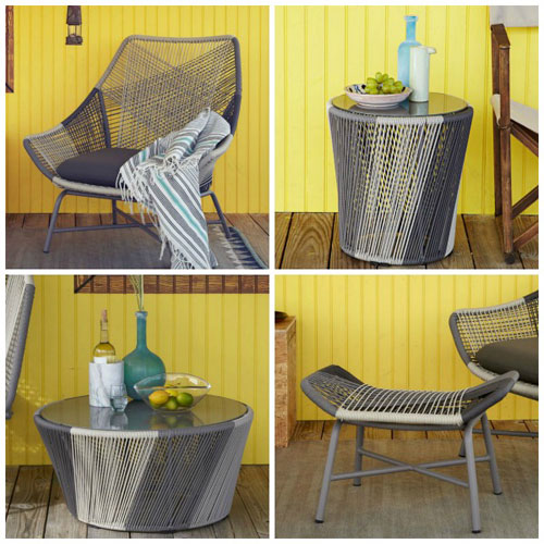 15 amazingly cool outdoor furniture sets sheknows rh sheknows com cool patio furniture ideas