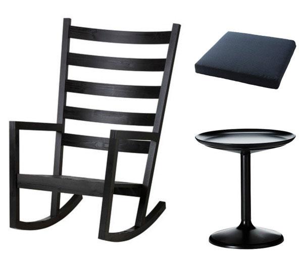 Ikea Varmdo chair with Sandskar table