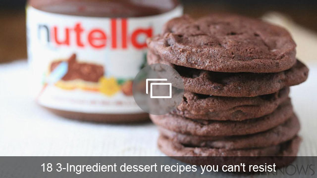3-ingredient desserts