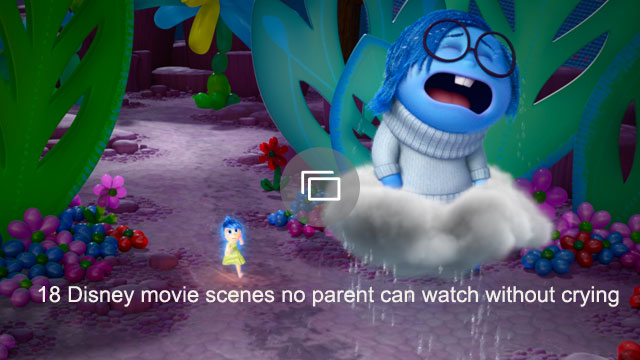 18 Disney movie scenes no parent can watch without crying