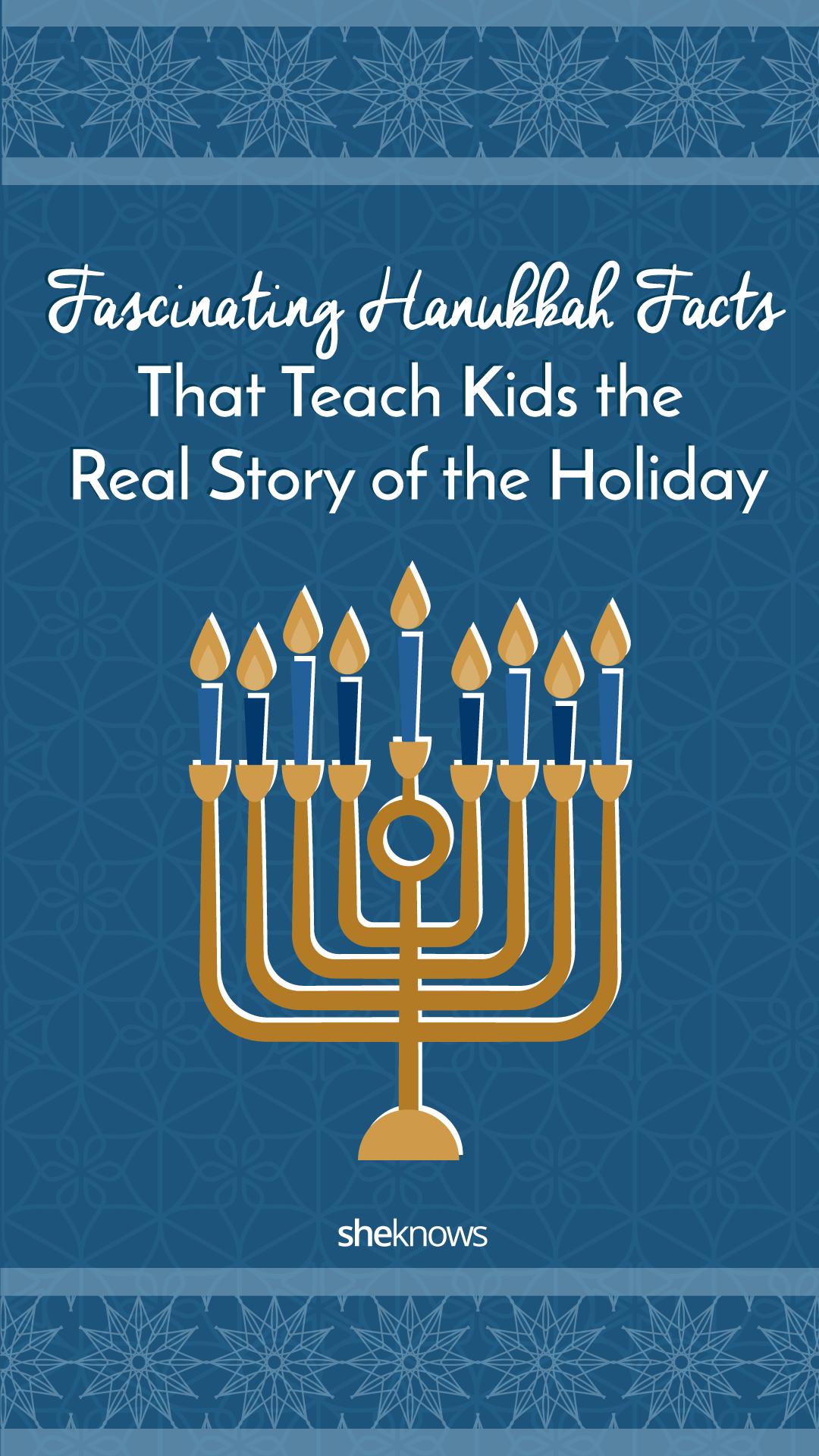 Pin it! Fascinating Hanukkah Facts