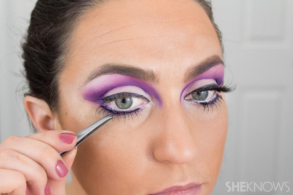 Barbie Halloween Makeup: Step 18