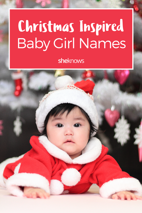 Pin it! Christmas-Inspired Baby Girl Names