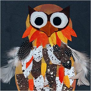 Mixed media owl craft | Sheknows.com