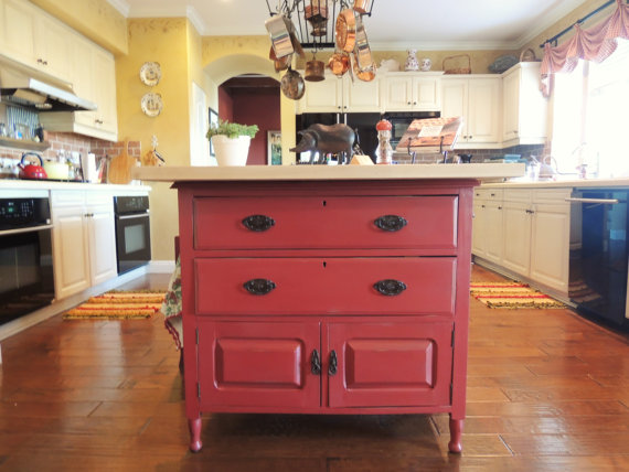 15 Funky Kitchen Islands That Will Make You Jump On The Repurposing