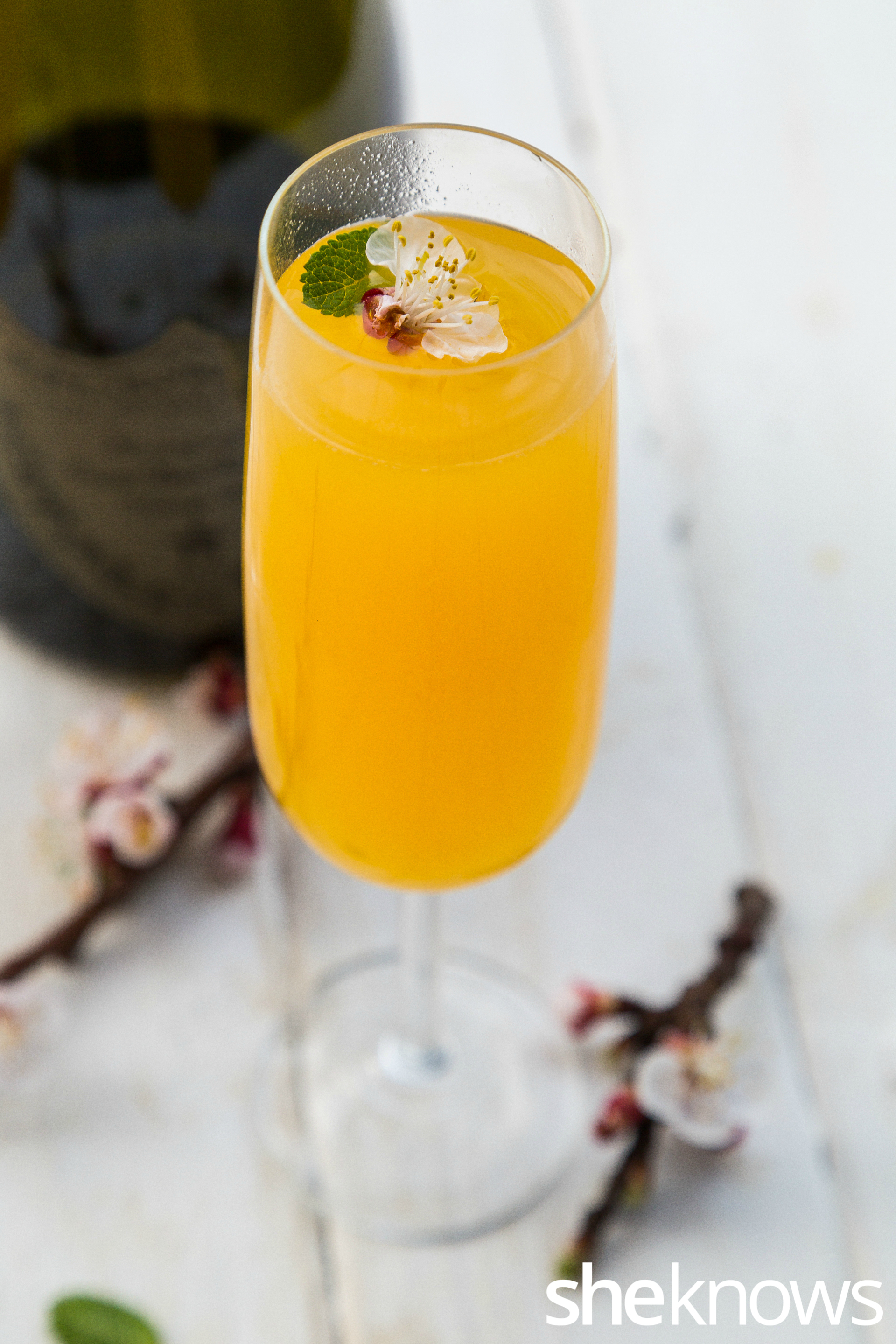 Passionfruit & Lychee mimosa