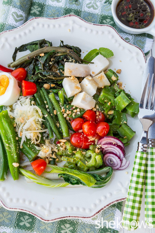 Asian vegetable salad 2