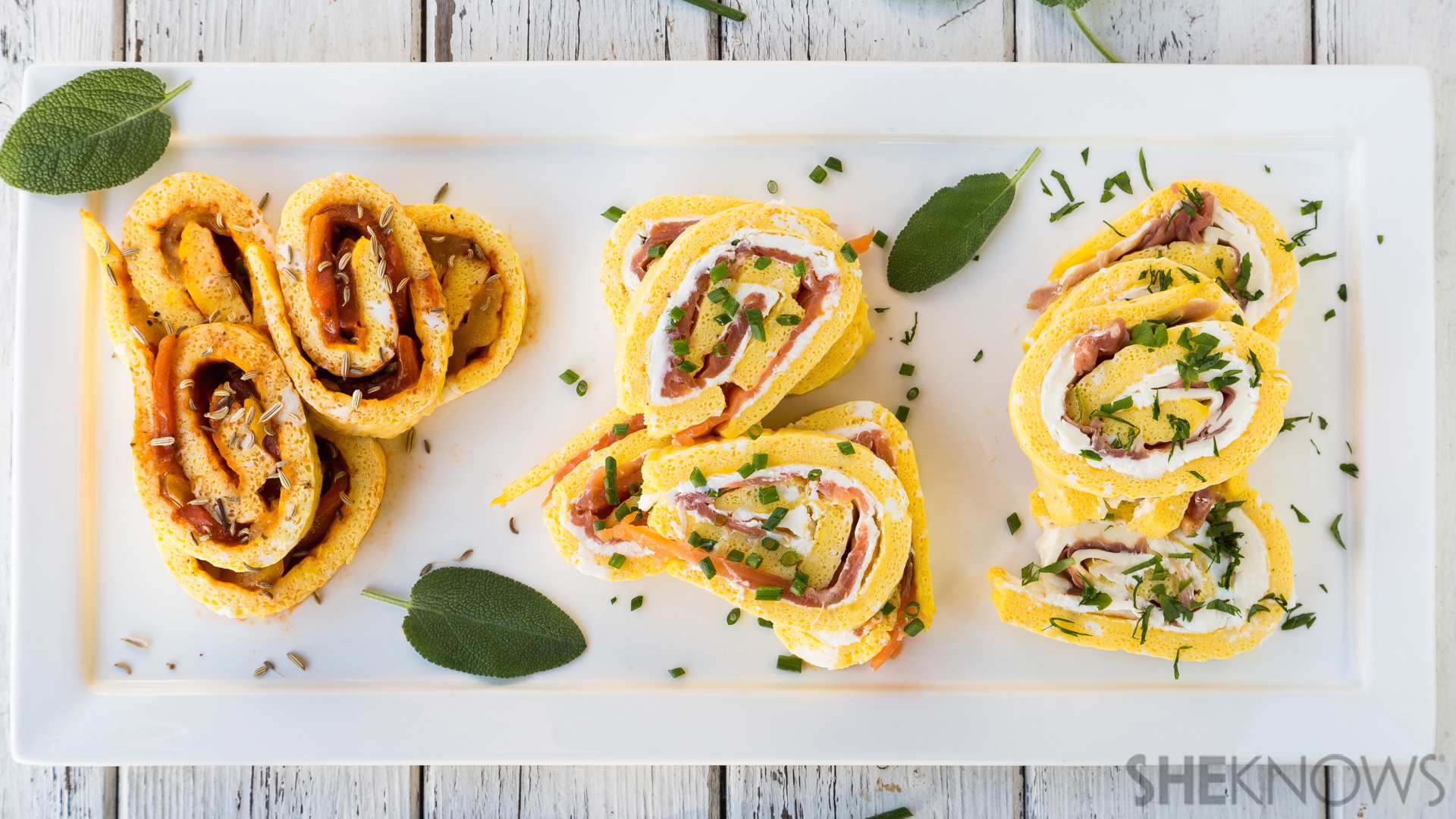 Frittata roll-ups: 3 inexpensive and delicious ways