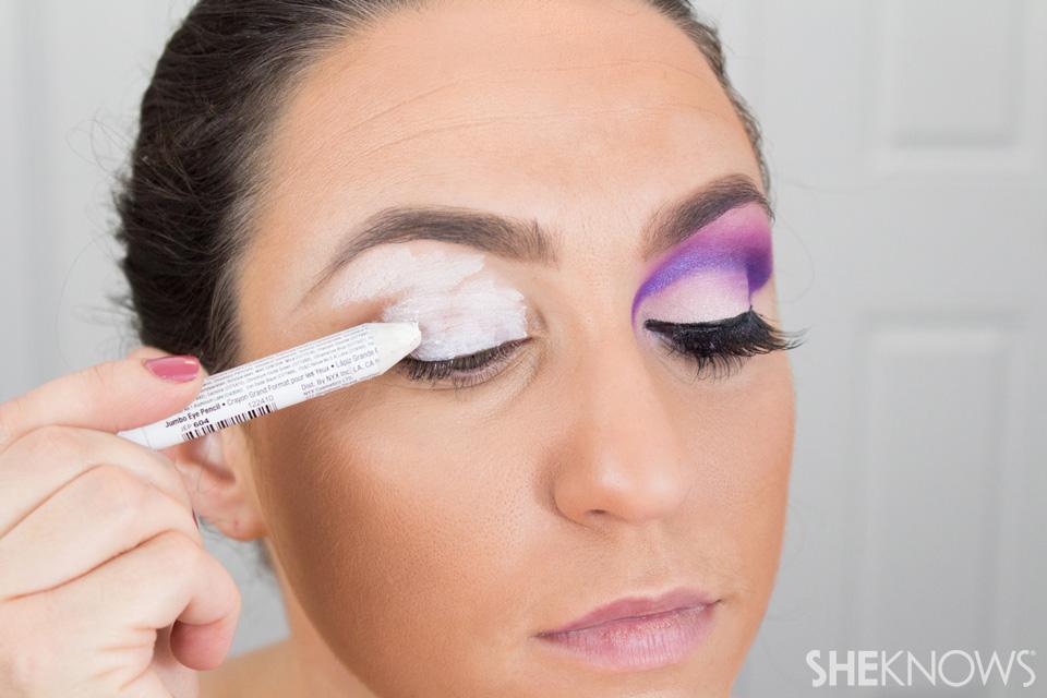Barbie Halloween Makeup: Step 1