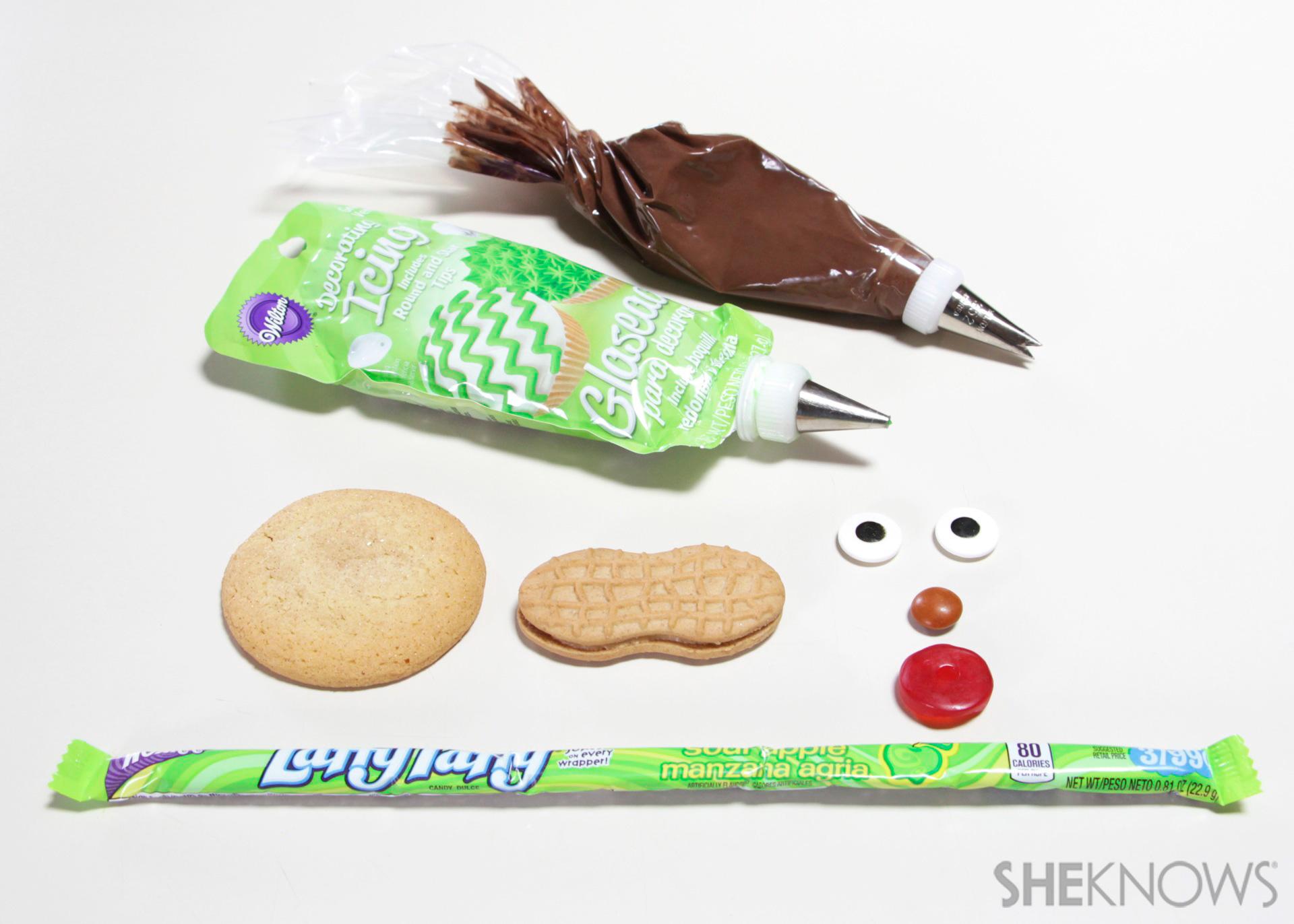 Snorkeler cookie snacks