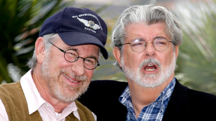 Steven Spielberg and George Lucas at