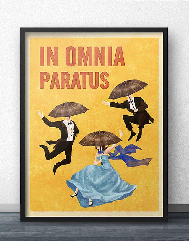 Omnia Paratus poster