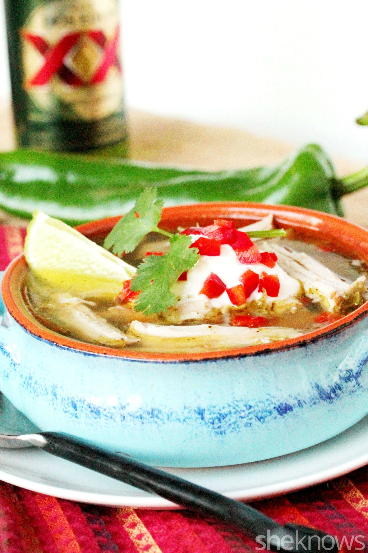 2 Slow cooker pork soup