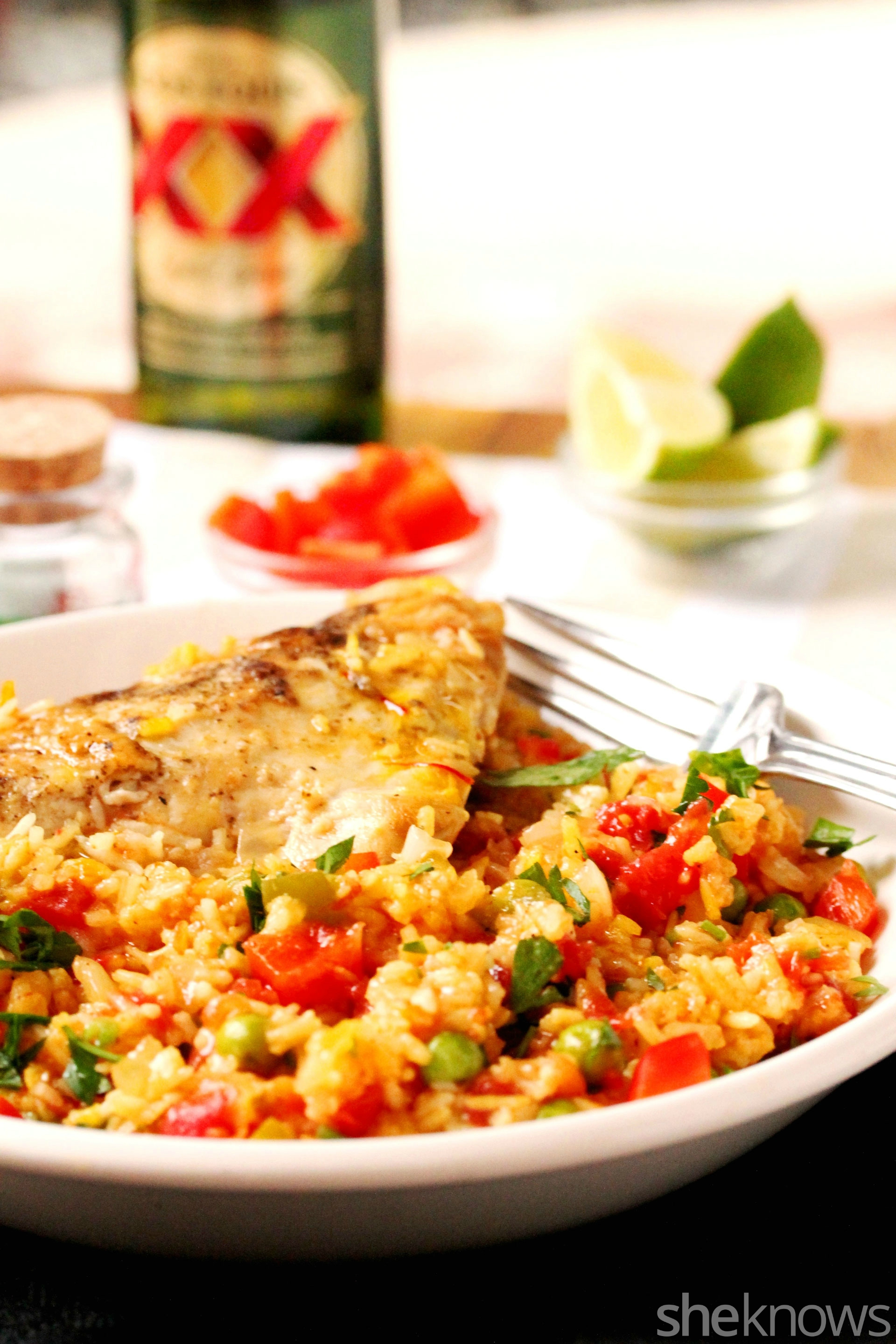 Cuban-chicken-and-rice-in-bowl