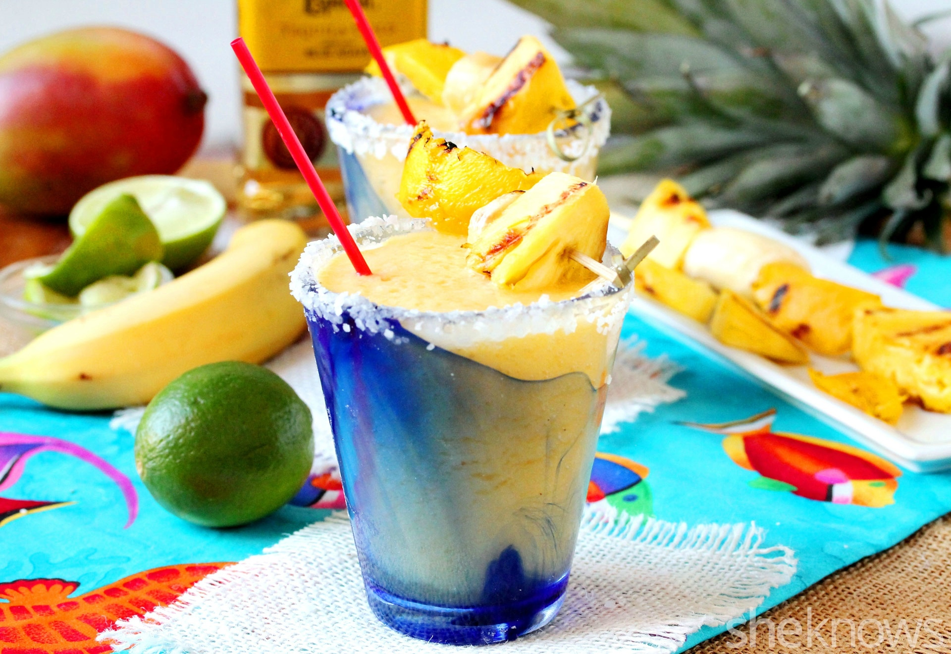 grilled tropical margarita