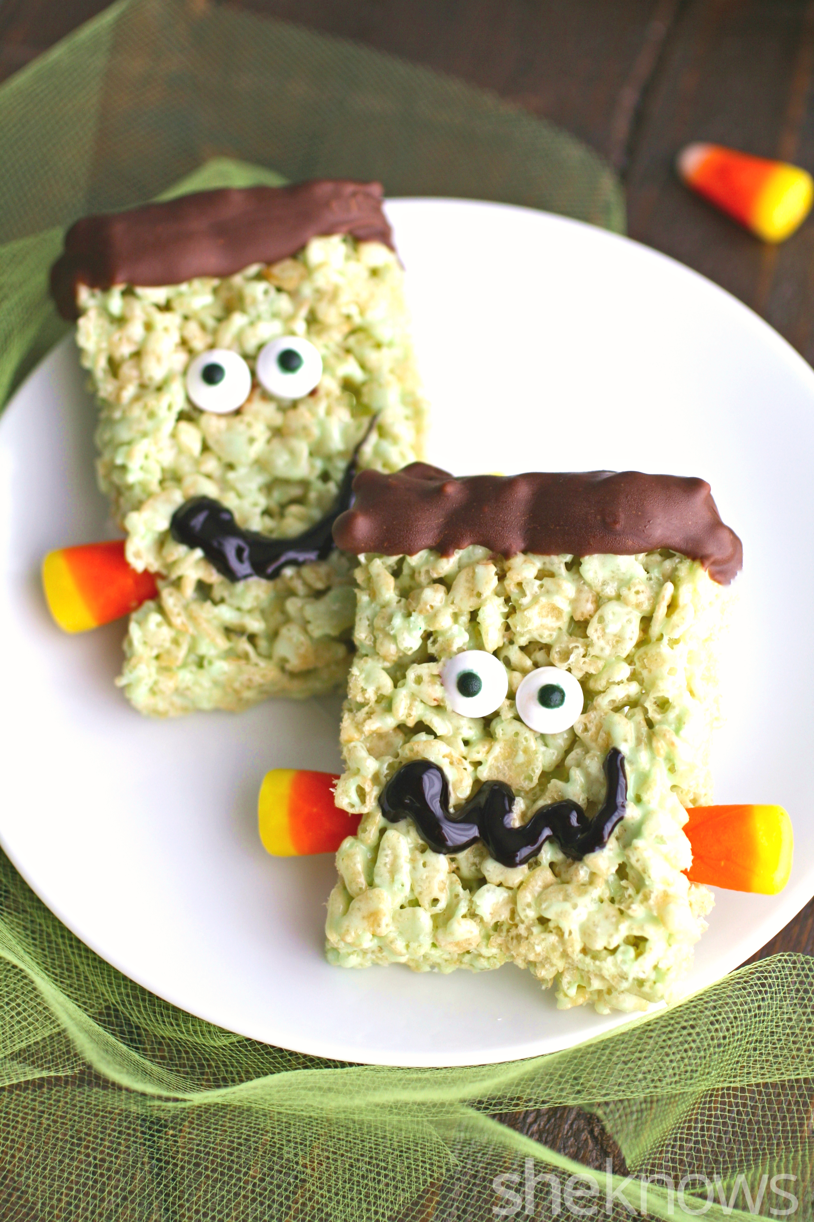 Add these treats to your Halloween get together for a monstrously good time!