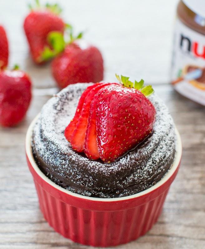 Two ingredient Nutella cake