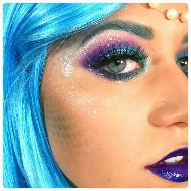 2. Glittery Mermaid