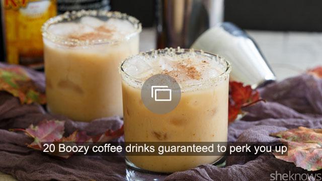 20 Boozy coffee drinks guaranteed to perk you up