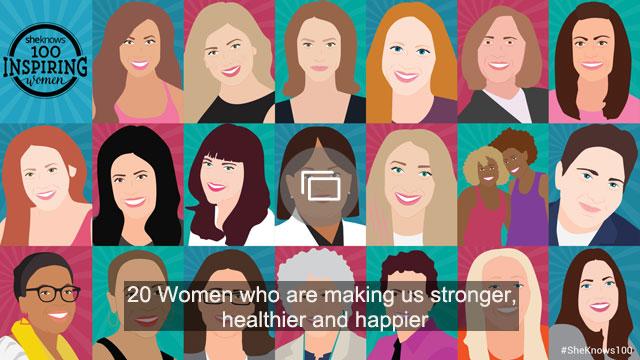 Slideshow of inspiring women