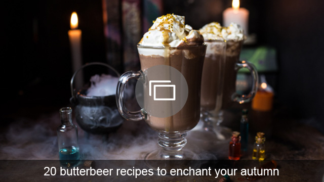 20 butterbeer recipes to enchant your autumn