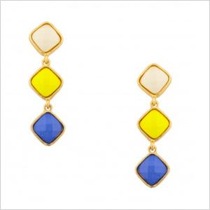 Squire Stone Dangles Ivory Earrings(shopprimadonna.com, $10)