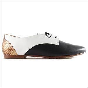 Yosi Samra Paige Leather Oxford(yosisamra.com, $165)
