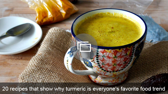 20 recipes that show why turmeric is everyone's favorite food trend