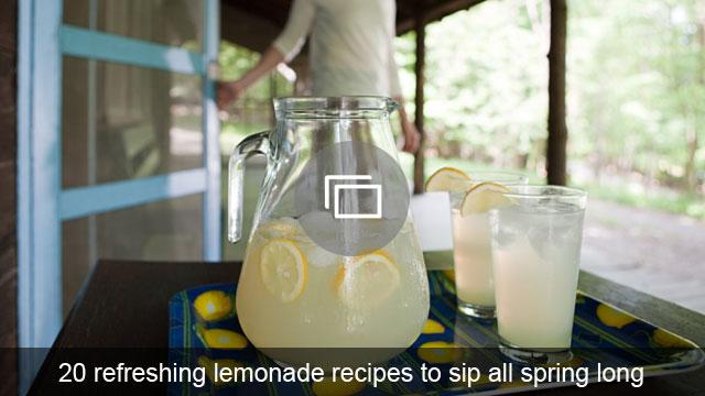 20 refreshing lemonade recipes to sip all spring long