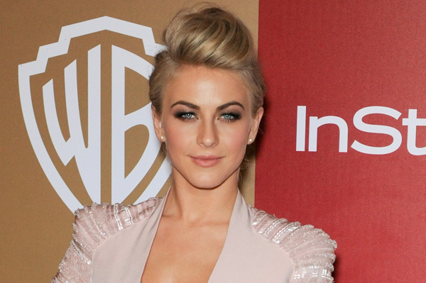 Julianne Hough at the 2013 Golden Globes
