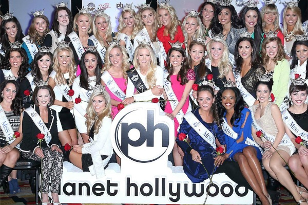 2013 Miss America Pageant Contestants