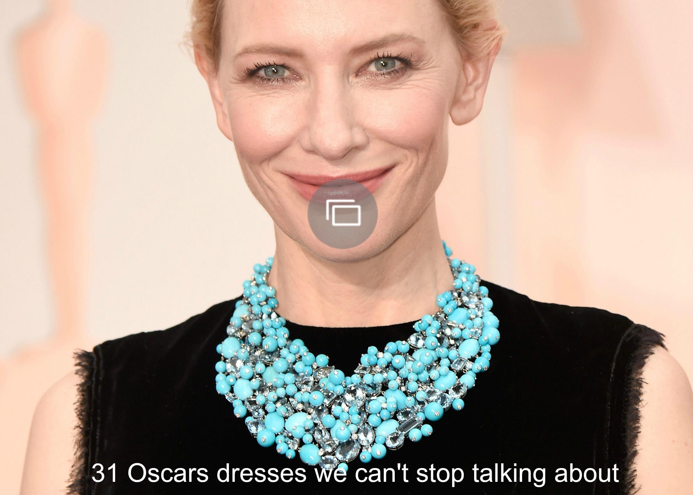 2015 Oscars dresses