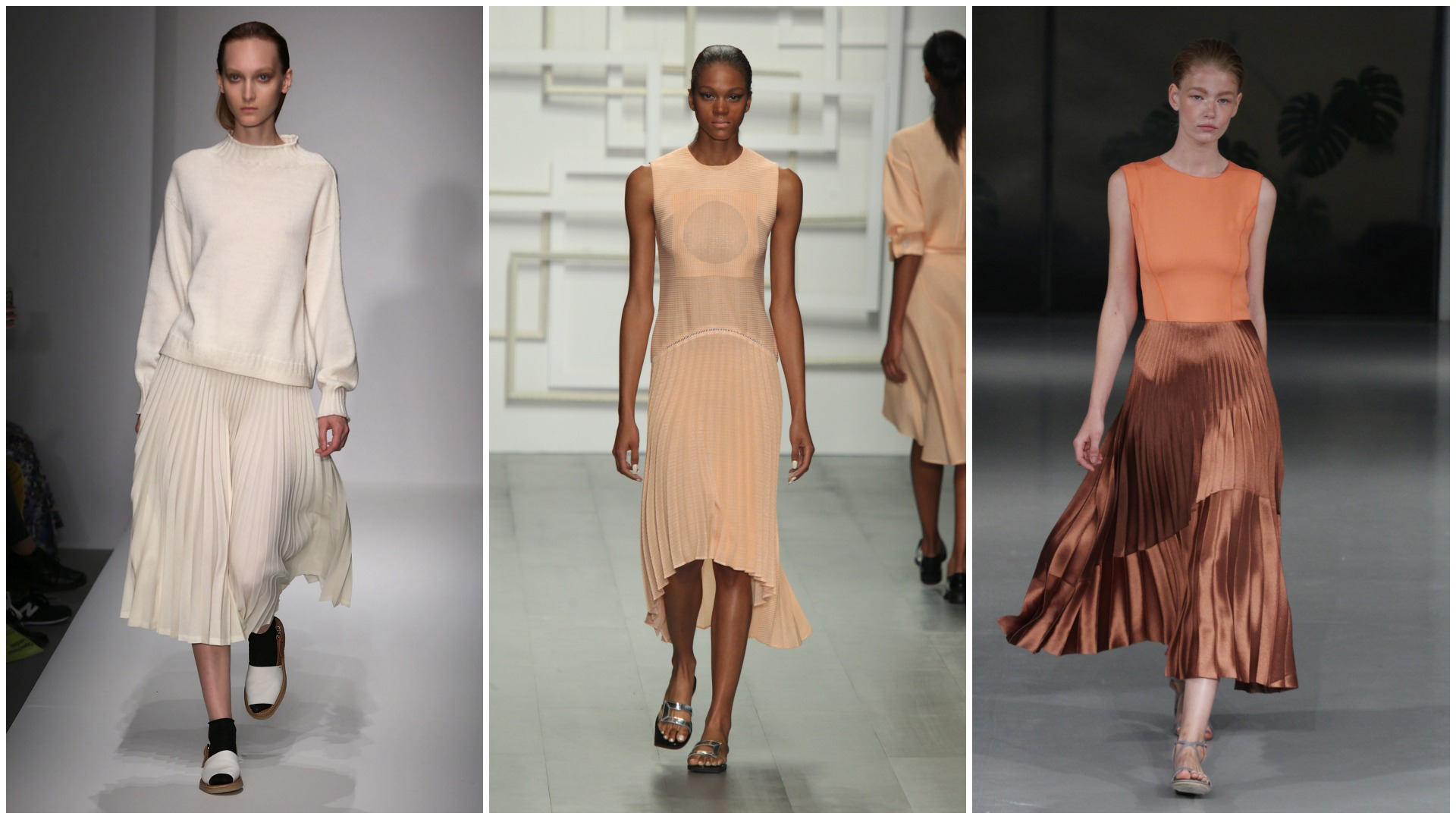 Pleats are set to be a huge trend in 2015