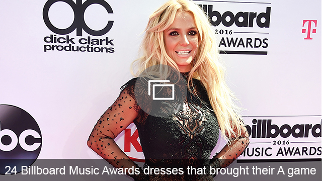 2016 BBMA red carpet slideshow