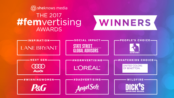 Femvertising Awards winners