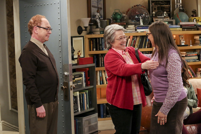 Teler and Kathy Bates Big Bang Theory