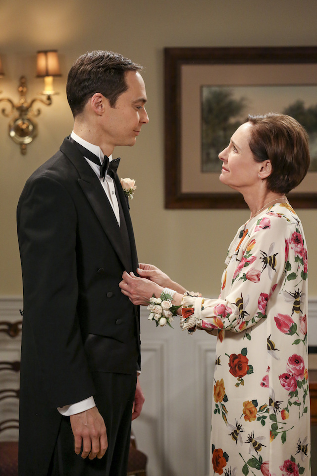 Sheldon Cooper and mother Big Bang Theory