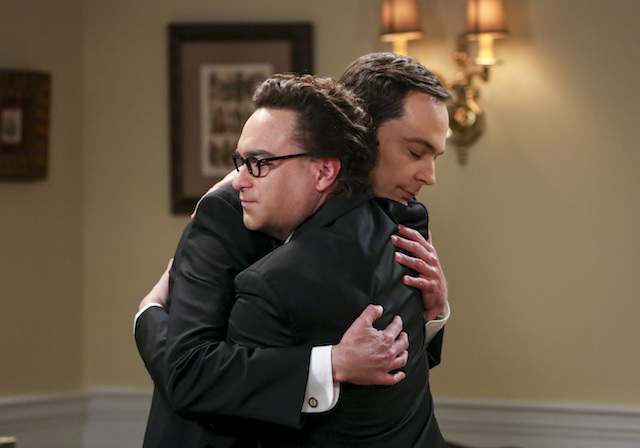 Sheldon and Leonard Big Bang Theory