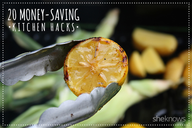 20 money-saving kitchen hacks
