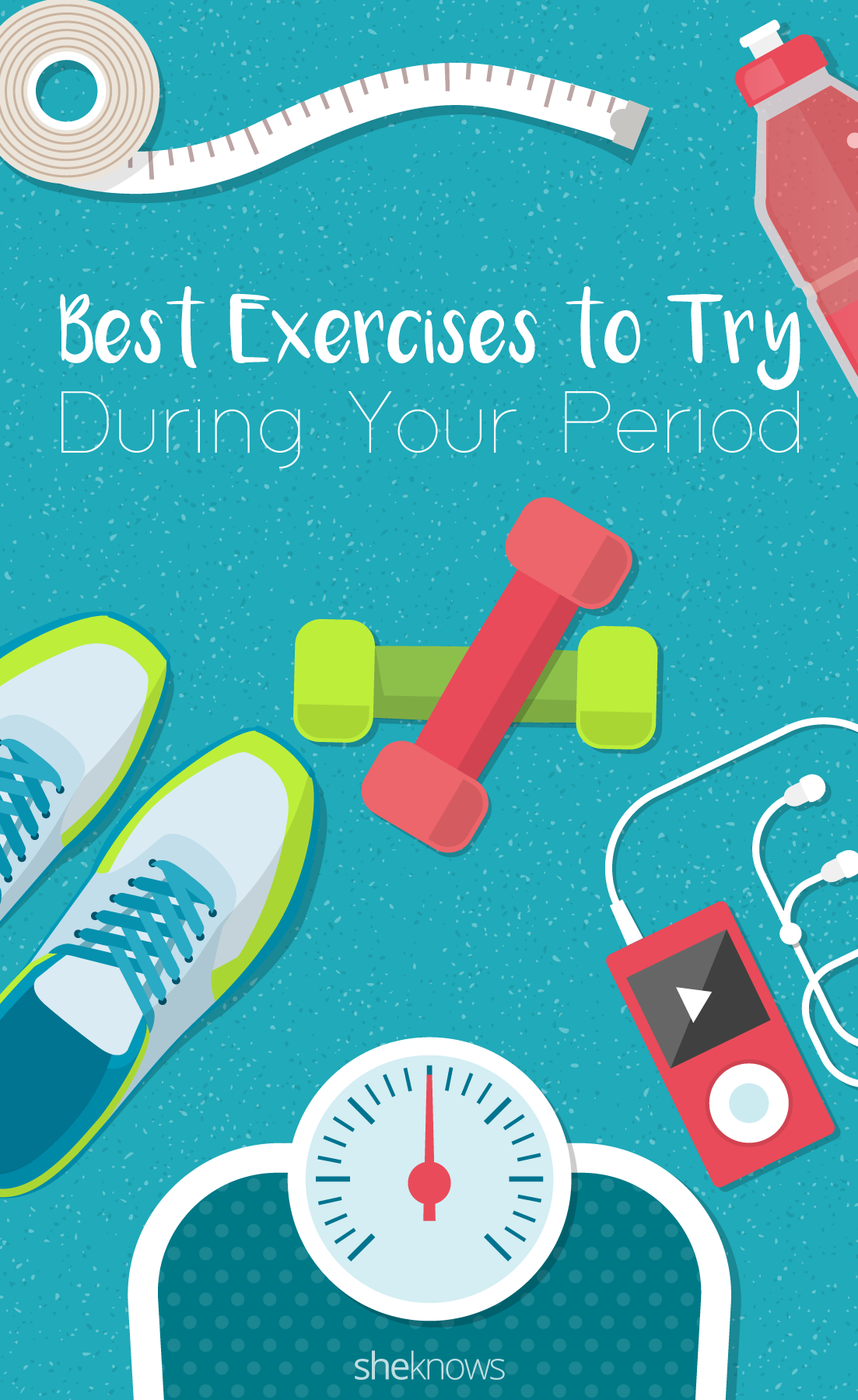 Pin it! Exercise To Help Ease Those Period Cramps