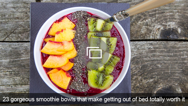 23 gorgeous smoothie bowls that make getting out of bed totally worth it