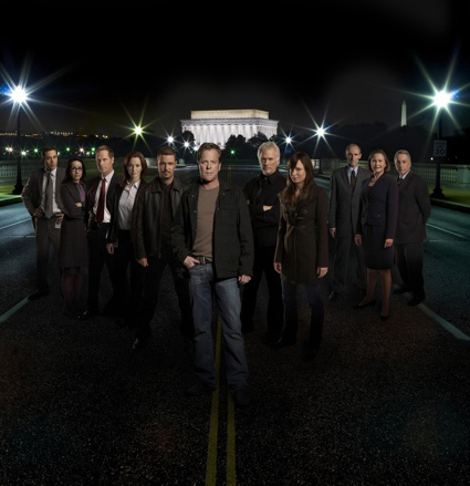 The 24 cast heads to Washington DC this year